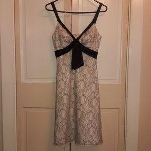 Classy Lace Midi Dress